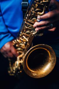 Pee Wee Ellis' saxophone